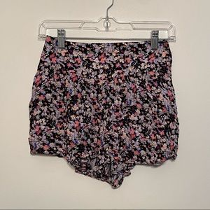 American Eagle Outfitters Flowy Floral Shorts
